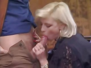 Blowjob Clothed European French  Vintage