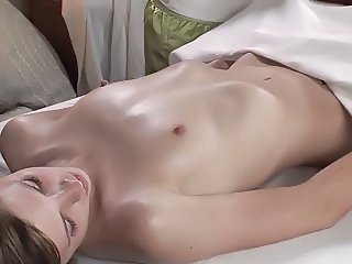 Massage Skinny Small Tits