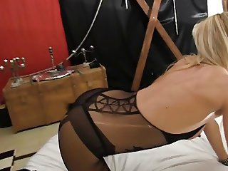 Mature saint tro moolah violament fucked by two guy french