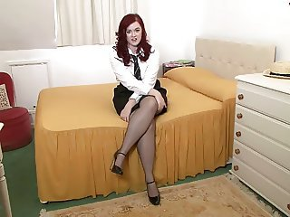 Babe Chubby Solo Stockings Student Uniform