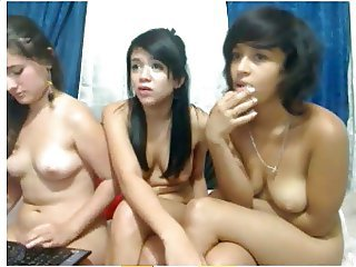 Interracial Latina Lesbian Teen Webcam