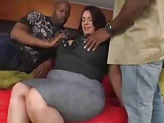Interracial Mature Threesome
