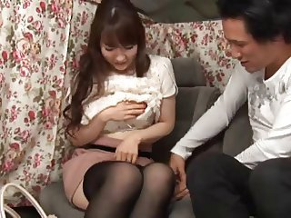 Japanese housewife creampie