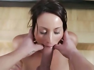 amazing deepthroat video with dirty talk 6