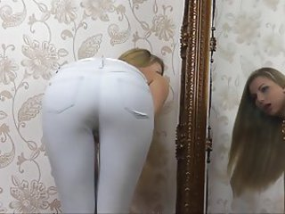 Sexy Ass in Jeans Tease - Humiliation