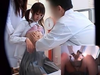 Young Girls Japanese School Medical Exam. vol.11
