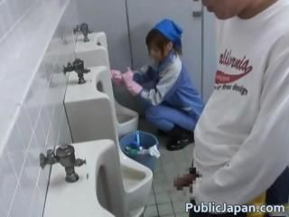 Asian Cute Public Toilet