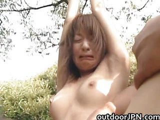 Asian Bondage Outdoor