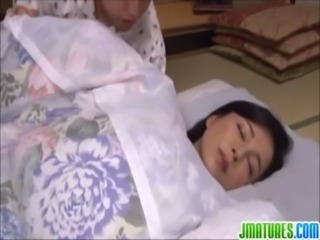 Asian Blowjob Japanese Mature Sleeping
