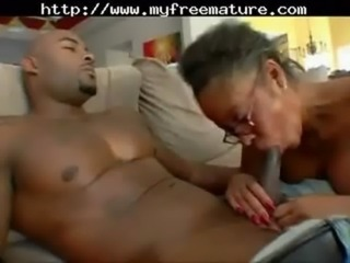 Black Milf With Glasses mature  ... free