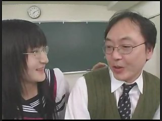 Asian Glasses Japanese School Teacher