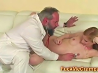 Blonde Doctor Fetish Old and Young Teen Uniform