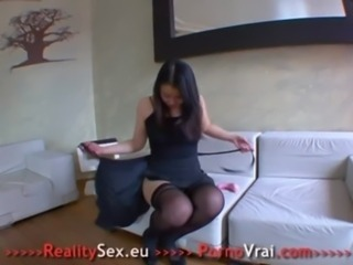 Asian Dildo  Stockings