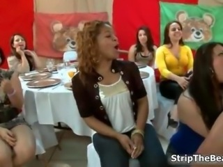 Soon to be bride goes down on a stripper