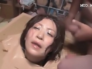 Asian Bondage Bukkake Hardcore