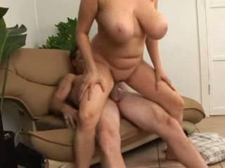 BBW Big Tits MILF Natural Riding