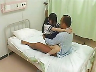 Asian Japanese Old and Young Stockings Teen