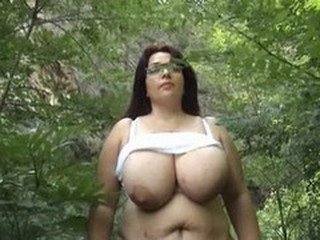 Amateur  Big Tits  Natural Outdoor