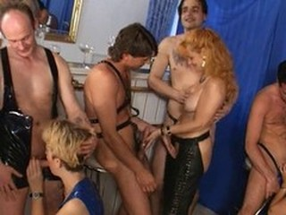 Fetish Groupsex Mature Older Orgy Swingers