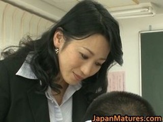 Asian Japanese Mature School Teacher
