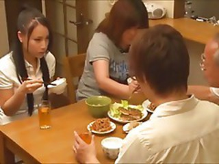 Asian Babe Japanese Kitchen Sister Teen Wife