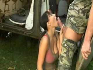 Army Big Tits Blowjob Cute European Natural