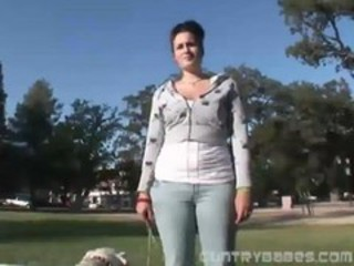 "Machine Fucking On A Park Pussy..."" target=""_blank"