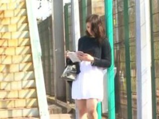 "Public upskirt before a roughly anal scene for a brunette"" target=""_blank"