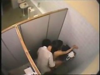HiddenCam Public Student Toilet