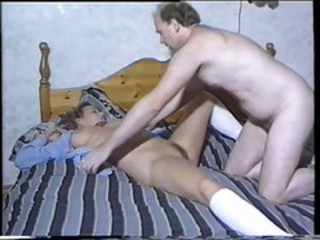 "Hairy Old Man Uses Beauty"" target=""_blank"