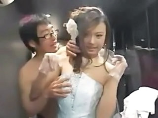 Asian Babe Bride Cute