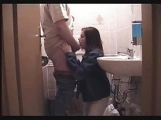 Amateur Bathroom Blowjob Daddy Daughter Homemade Old and Young
