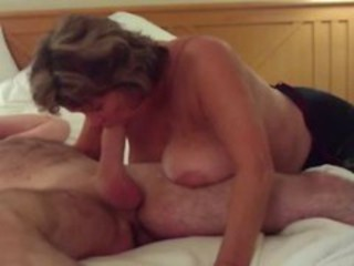 "Busty Mature Swallows All of Big Young Cock"" target=""_blank"