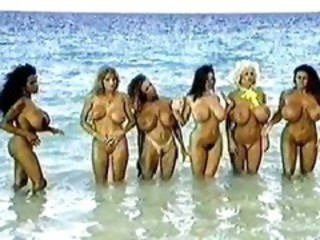 Beach Big Tits  Outdoor Pornstar Vintage
