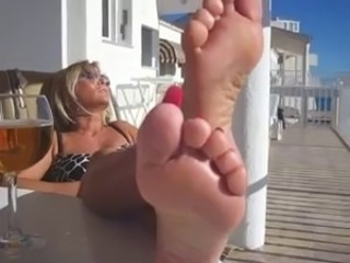 Lady B Hottest Mature Feet 1