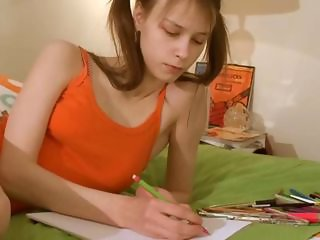 What are you waiting for to check Nasty homework of sweet princess