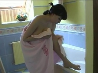 Amateur Bathroom Big Tits Natural Russian Teen