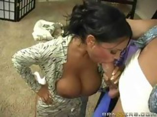Big Tits Blowjob Indian  Pornstar