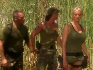Esercito  All'aperto Pornostar Uniformi