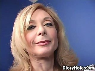What is it exactly about a gloryhole in a disgusting bathroom that makes an otherwise commonsense hot babe go in there, take a stranger's huge black dick and put it in her mouth? Not only that, but to continue sucking, and give a complete strang