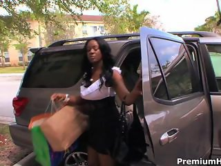 Car Ebony  Outdoor Public
