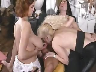 Big Tits Blowjob  Natural Threesome Vintage