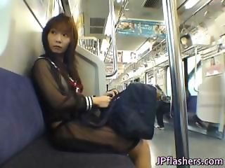 Asian Japanese Lingerie Public Teen