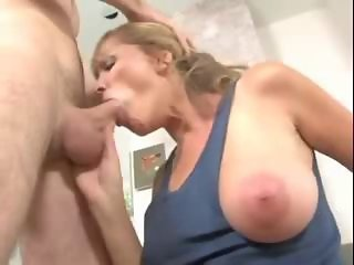 Big Tits Blowjob  Natural