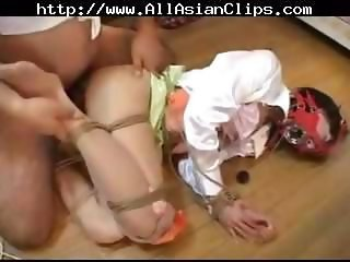 Prostie Japanese beaver with an amusing bumsen has some kinky sexual congress