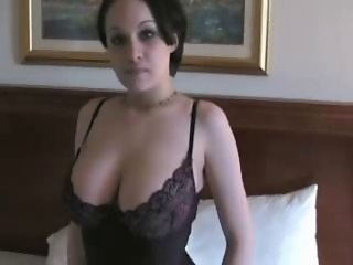 Amateur Amazing Big Tits Cute Lingerie Natural Teen