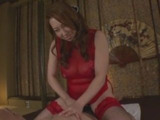 Asian Japanese Lingerie Massage  Stockings
