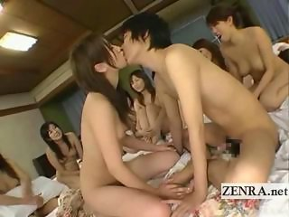 Asian Babe Groupsex Japanese Kissing Orgy