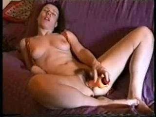 Aude the french slut with a dildo Sex Tubes