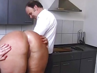Kinky Couple in the Kitchenette 2